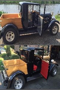 Herstofferen en repareren van autostoelen