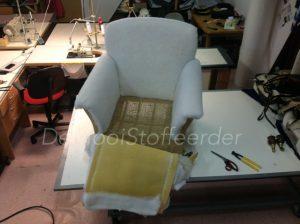 herbekleden fauteuil d